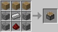 craft piston Minecraft Tüm Eşyaların Tarifi