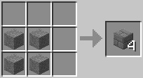 craft stonebrick Minecraft Tüm Eşyaların Tarifi
