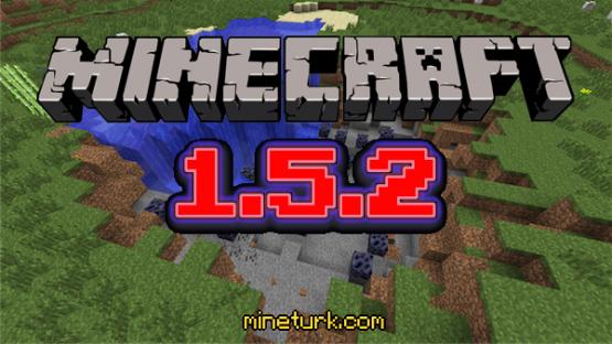 Minecraft 1.5.2 yayınlandı