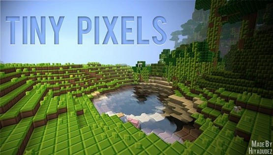 Tiny Pixels Texture Pack Tiny Pixels Doku Paketi [1.6.2/1.6.1/1.5.2]