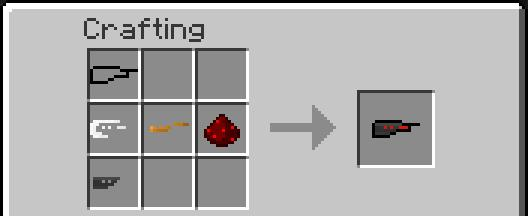 RedStone Handguns Mod Recipes