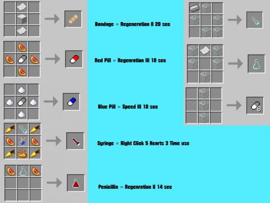 GMpTBCX MedicineCraft Mod [1.6.4]