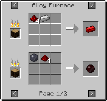 alloy furnace redstone Not Enough Items Mod [1.7.2/1.6.4/1.6.2/1.5.2]