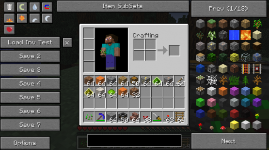 inv test Not Enough Items Mod [1.7.10/1.7.2/1.6.4/1.6.2/1.5.2]
