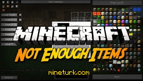 not enough items mod mineturk Not Enough Items Mod [1.7.10/1.7.2/1.6.4/1.6.2/1.5.2]