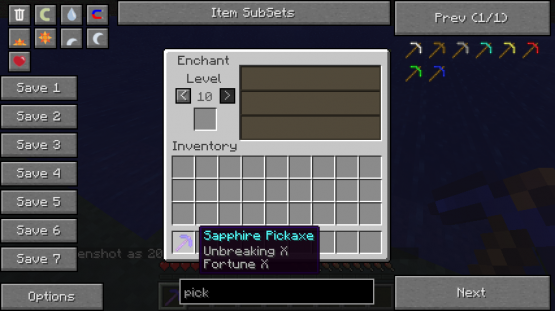 selector 2 Not Enough Items Mod [1.7.2/1.6.4/1.6.2/1.5.2]