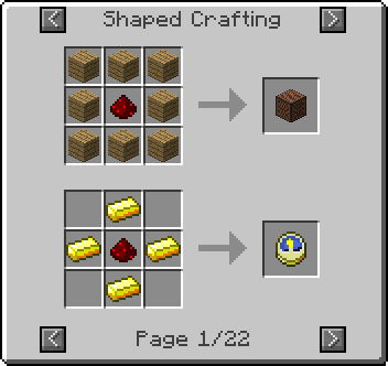 shaped redstone