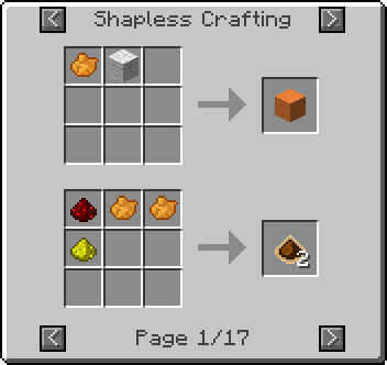 shapless dye Not Enough Items Mod [1.7.10/1.7.2/1.6.4/1.6.2/1.5.2]