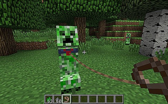 Tameable Creepers Mod 1 Evcil Creeper Modu [1.7.2/1.6.4]