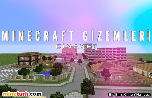 Minecraft Gizemleri: Cinayet Haritası