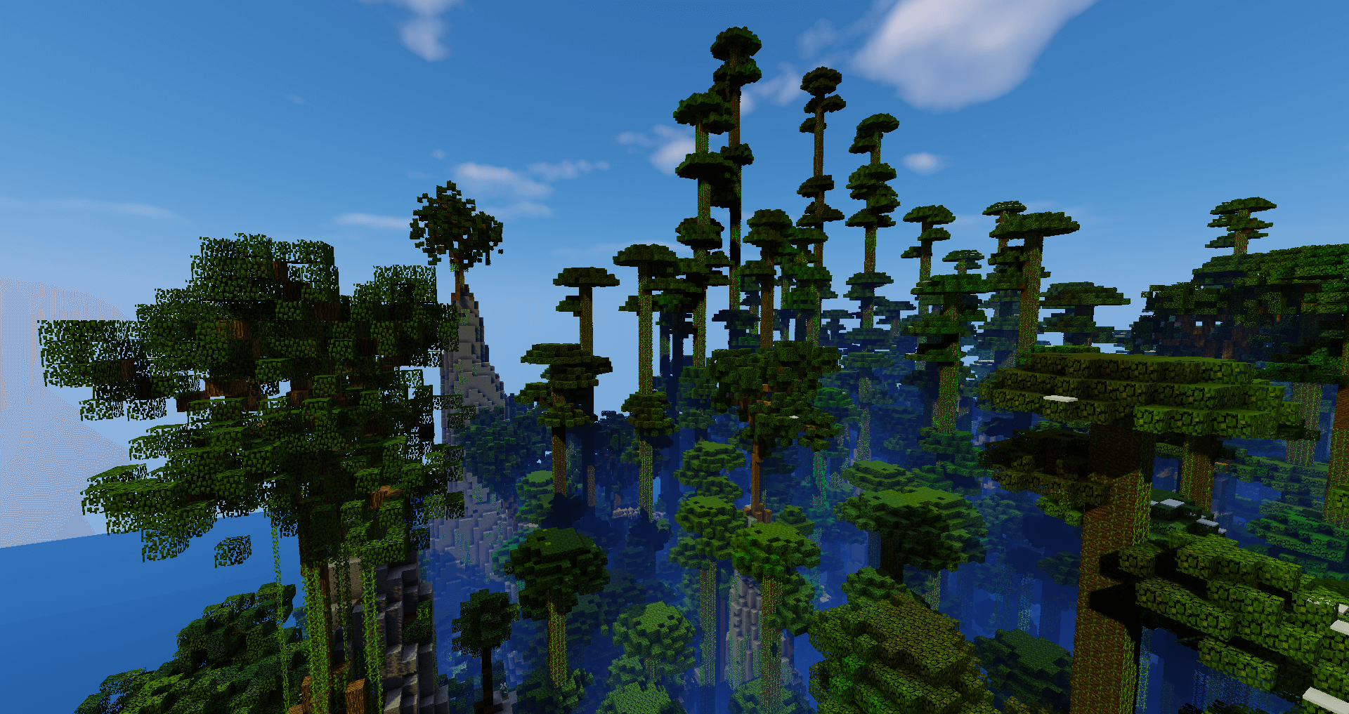 No Mob Spawning on Trees Modu